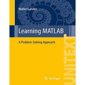 آموزش Matlab : یک رویکرد حل مسئله